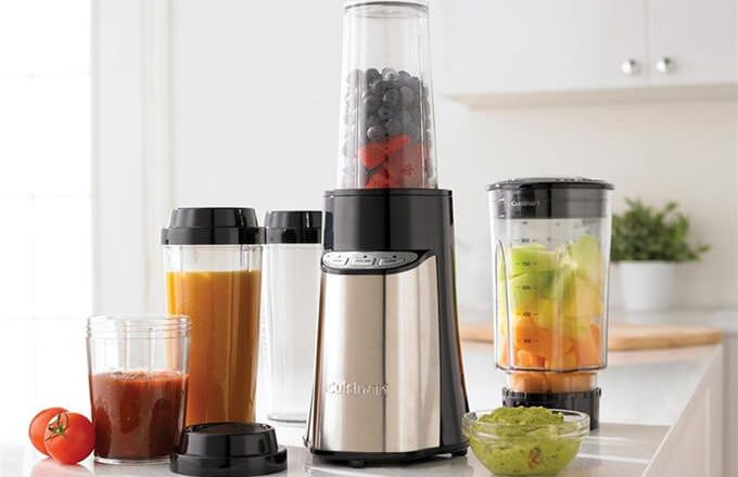 Cuisinart SmartPower Portable Compact Blender & Chopping System CPB-300A
