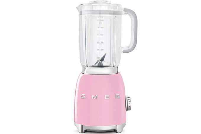 Smeg 50s Style Retro Blender BLF01PKAU Pink